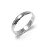 81stgeneration Sterling Silber 925 Ring Klar Band 3 mm, Verlobung, Hochzeit Thumb Zehenring - 1