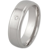Schmuck-Pur 925/- Silber Damen-Ring mit Zirkonia rhodiniert YSD474 mit Gravur (Größe 60) - 1