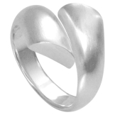 Vinani Damen-Ring Passing Lines Sterling Silber 925 Größe 58 (18.5) RPL58 - 1
