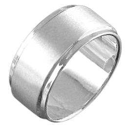 Vinani Herren Ring Infinity XL Männerring Sterling Silber 925 Größe 72 (22.9) RIB72 - 1