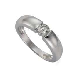 ZEEme Damen-Ring 925 Sterling Silber Zirkonia weiß Gr. 58 (18.5) 360271398-058 - 1